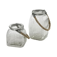 Sterling Signature Jar in Clear 129-1092/S2