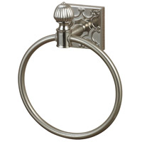 Sterling Industries Bathroom Towel Ring in Brushed Steel 131-009