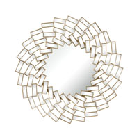 Sterling Signature Mirror in Gold Leaf 132-001