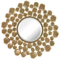 Sterling Signature Mirror in Gold Leaf 132-003