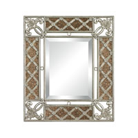 Sterling 132-010 Signature 28 X 24 inch Gold Leaf With Antique Mirror Wall Mirror