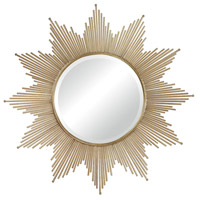 Sterling Signature Mirror in Gold Leaf 132-011