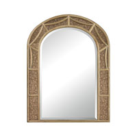 Signature 36 X 28 inch Gold Leaf With Antique Mirror Wall Mirror