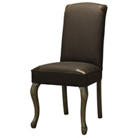 Sterling Signature Chair in Aged Driftwood and Brown 133-001