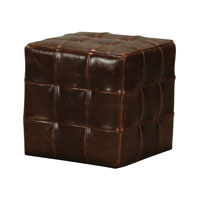 Sterling Lee Ottoman in Dark Tan 133-004