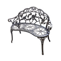 Sterling Signature Outdoor Bench in Brown 134-008