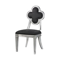 Sterling Petal Back Dining Chair in Grey 136-010