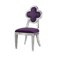 Sterling Petal Back Dining Chair in Purple 136-011