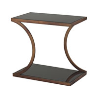 Sterling Misterton Side Table in Bright Gold 137-020