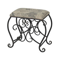 Sterling Cudworth Bench in Black 137-026