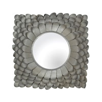 Flosley 25 X 25 inch Antique Silver Mirror Home Decor