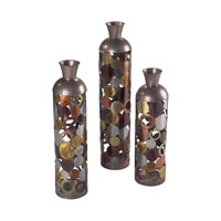 Sterling Rainow Vase in Silver and Gold and Copper 138-010/S3