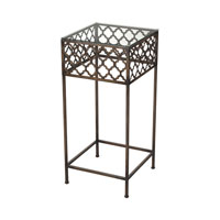 Cheadle 15 X 15 inch Bronze Accent Table Home Decor