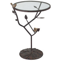 Kimberly 14 X 14 inch Bronze Side Table Home Decor