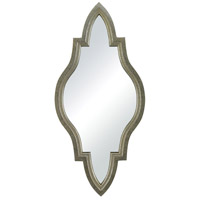 Sterling Jacarand Mirror in Silver Leaf With Light Antique Wash 138-066