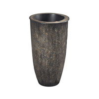 Sterling Northway Vase in Dark Bronze with Gold and Silver 138-076