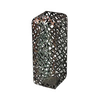 Sterling Barry Floor Standing Vase in Transitional Bronze and Silver Tone 138-078