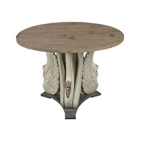 Sterling Baywood Accent Table in Antique White and Washed Grey 138-086