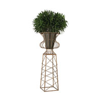 Sterling Oversized Planter in Antique Gold 138-144