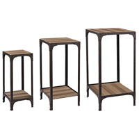 Sterling Set of 3 Signature Plant Stand in Bronze 138-146/S3