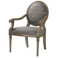 Luxe Grey Accent Chair Home Decor