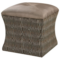 Sterling Luxe Ottoman in Green 139-011