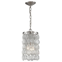 Sterling Drayton 3 Light Pendant in Clear Glass 140-001