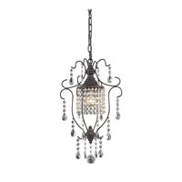 Sterling Storybrook 1 Light Pendant in Aged Bronze 140-006
