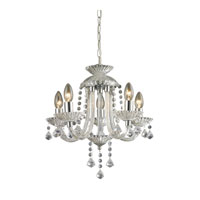Sterling Kessock 5 Light Chandelier in Clear and Chrome 144-001