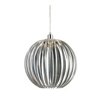 Sterling Dores 1 Light Pendant in Clear and Chrome 144-004
