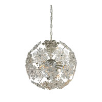 Haugh 4 Light 17 inch Clear and Chrome Chandelier Ceiling Light