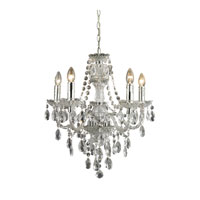 Sterling Cullard 5 Light Chandelier in Cler With Chrome Metal 144-024