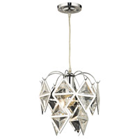 Sterling 144-037 Signature 1 Light 12 inch Chrome Pendant Ceiling Light