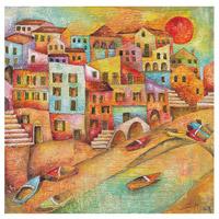 Sterling Emido Monachesi Canvas Wall Art 146-001