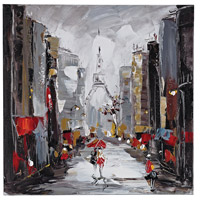 Sterling Paris Scene Oil Painting 149-013