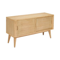 Sterling Retro Sideboard in Light Natural Wood Tone 150-005