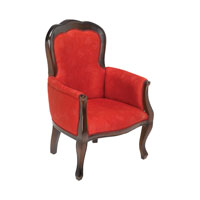 Italy Red Chair Home Decor