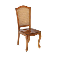 Queen Ann Cherry Chair Home Decor