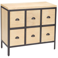 Signature Light Natural Wood Tone Chest Of Drawers