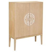 Signature Natural Wood Tone Cabinet