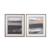 Sterling Set of 2 Glide Framed Art in Black 151-017/S2