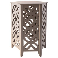 Sterling 1572-001 Majorca 20 X 16 inch Cool Grey Side Table