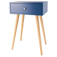 Sterling 1572-007 Astro 23 X 16 inch Navy Side Table