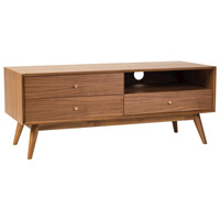 Dipper 47 inch Walnut Veneer Media Cabinet, Big