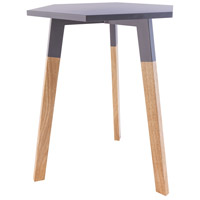 Sterling 1572-015 Sky Pad 20 X 18 inch Cool Grey Accent Table