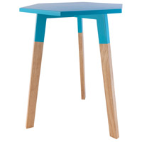 Sterling 1572-017 Sky Pad 20 X 18 inch Aqua Side Table