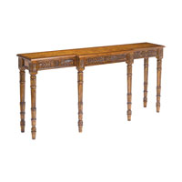 Sterling Chandon Console Table in Mid Tone Stained Wood 160-005