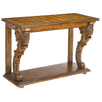 Sterling Chandon Console Table in Mid Tone Stained Wood 160-006