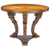 Sterling Chandon Accent Table in Mid Tone Stained Wood 160-007