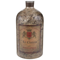 Sterling Signature Glass Bottle in Aged Mercury 169-002